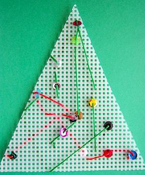 Childhood 101 stitching practice tree