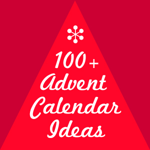 100+ advent calendar ideas at The Crafty Crow