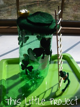 This Little Project leprechaun trap craft