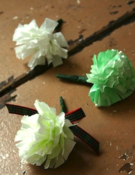 Family Chic flower pins