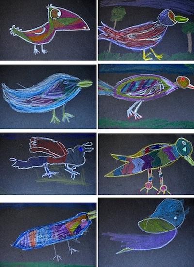 Se7en crafty crow birthday art