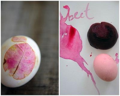 Progressive Pioneer natural easter egg dyes