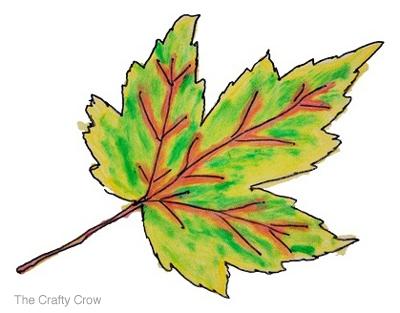 Leaves Paintings And Drawings Crow Ink Painted Leaves 5
