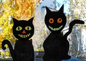 That Artist Woman crazy Halloween cats