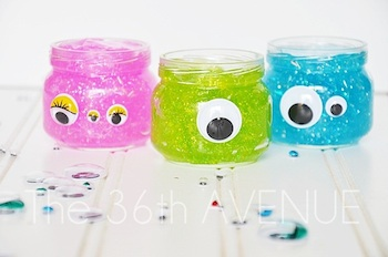 Monster Glitter Slime Things To Make And Do Crafts And Activities
