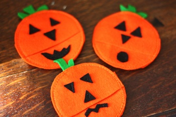 Buzzmills jack o lantern treat pocket