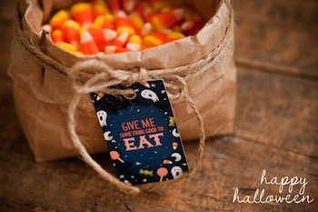 The Sweetest Occasion free halloween printables treat labels and more