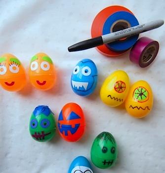 The Tiny Funnel halloween monster eggs