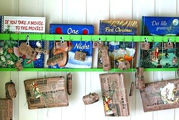 homemade advent calendar ideas Christmas countdown calendar