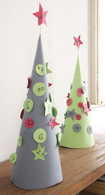advent calendar tree with hidden surprises inside