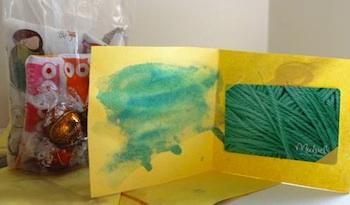 toddler art gift card holders toddler art gift idea