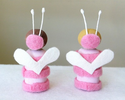 Valentine Love-Bugs tutorial step 5