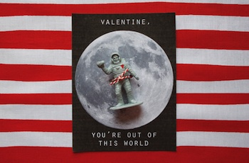 Dandee astronaut valentine out of this world