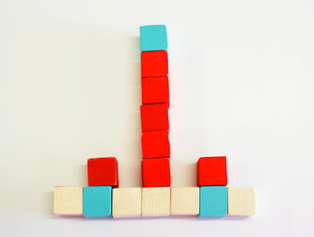Pintalalluna make your own blocks in three colors