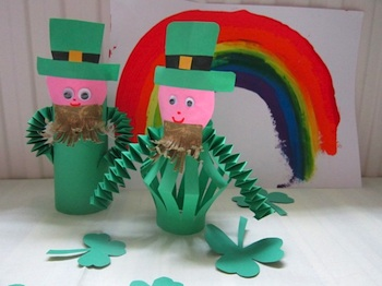 Mermaids Makings leprechauns
