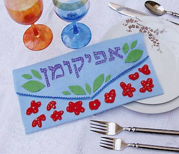 passover craft afikomen bag craft