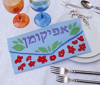 passover craft afikomen bag craft