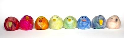 Design Mom felted chicks