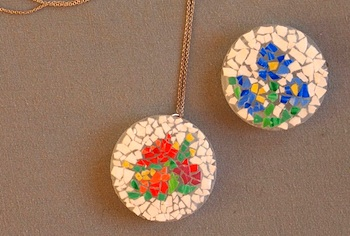 Miniature Egg Shell Mosaics Things To Make And Do Crafts And