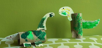 toilet paper roll craft dinosaur craft