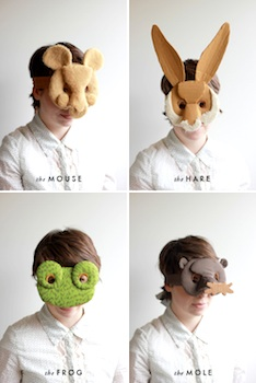 cardboard crafts diy cardboard and fabric animal masks
