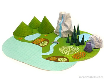 earth day crafts paper world