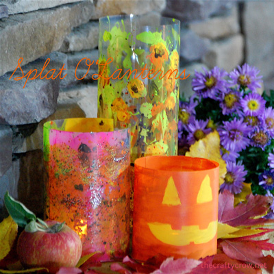 The Crafty Crow Martha Stewart Crafts splat o'lanterns 400