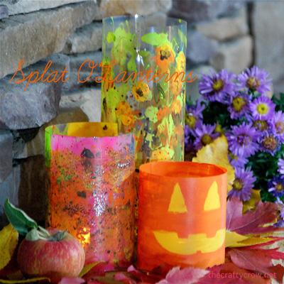 The Crafty Crow Martha Stewart Crafts splat o'lanterns 400