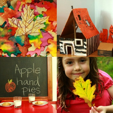 The Artful Year Autumn projects