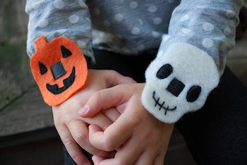 Merriment Design no sew halloween bracelets