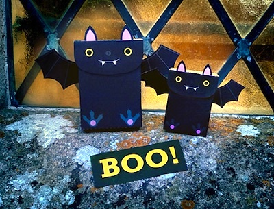 Mr Printables free printable halloween bat party favor bag