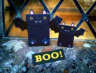 Mr Printables free printable halloween bat party favor bag