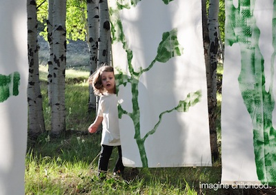 Imagine Childhood tree shadows