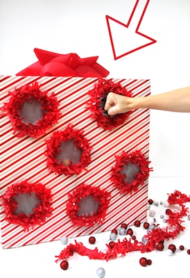 homemade advent calendar idea punch box advent calendar idea tutorial