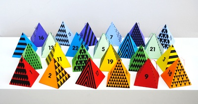 homemade advent calendar ideas free printable paper craft pyramid advent calendar
