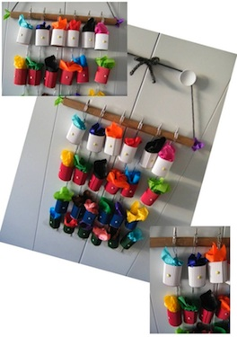 homemade advent calendar ideas advent calendar to make with lots of color