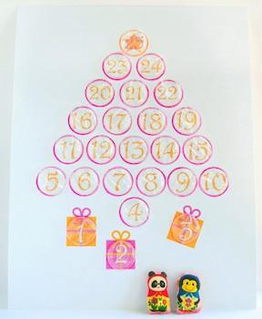 bubblewrap advent calendar