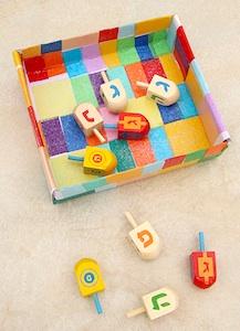 Creative Jewish Mom hanukkah decoupage box