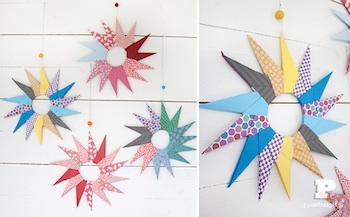 pretty paper origami stars