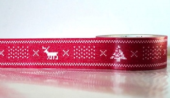 Christmaswashi-tape-red