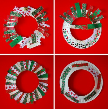 Paper Plate Christmas Wreaths  sc 1 st  The Crafty Crow & Paper Plate Christmas Wreaths - Things to Make and Do Crafts and ...