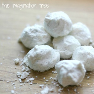 snow dough recipe