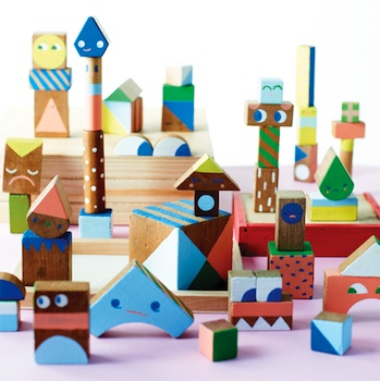creative handmade wood blocks