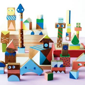 creative handmade wood blocks