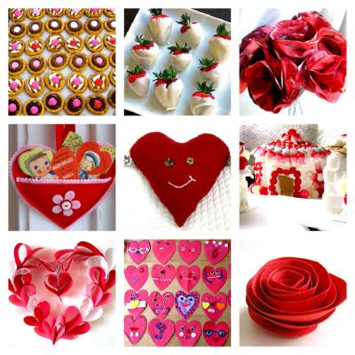 Valentine's Day crafts for kids and party ideas
