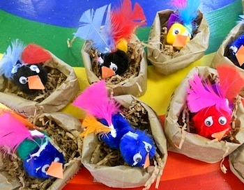 Preschool Playbook spring birdies