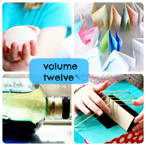 Alphabet Glue volume twelve mini-collage