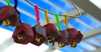 egg carton craft for kids egg carton wind chimes