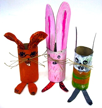 toilet paper roll craft toilet paper tube animals