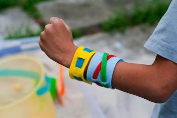 woven felt bracelets felt craft